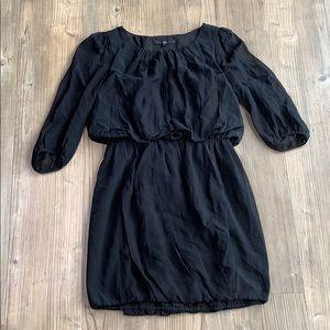 Tibi little black Silk Dress size 2